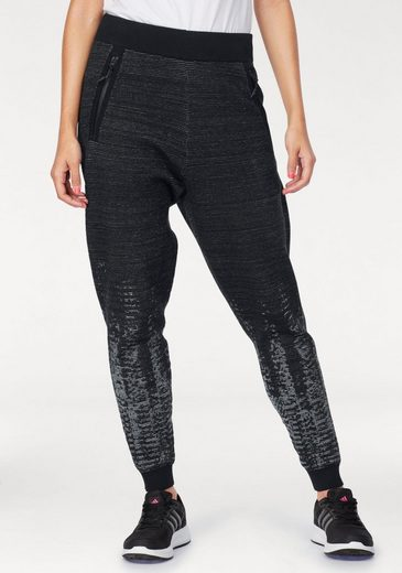 Adidas Performance Workout Pants Zne Pulse Kn Pt, Knit Quality With Premium