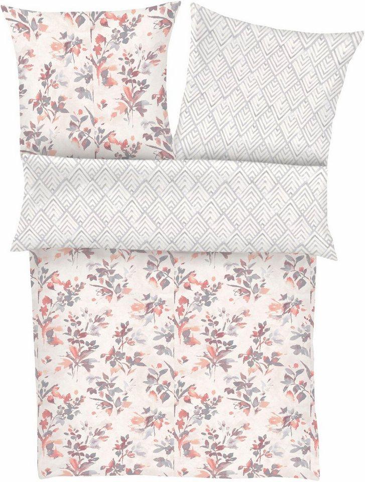 bettw sche kalmar zeitgeist mit floralem muster online kaufen otto. Black Bedroom Furniture Sets. Home Design Ideas