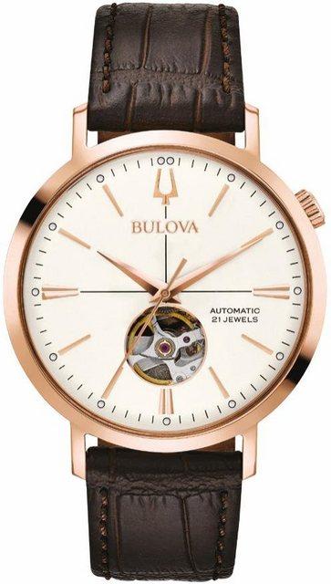 Bulova Automatikuhr »97A136« | Uhren > Automatikuhren | Braun | Bulova