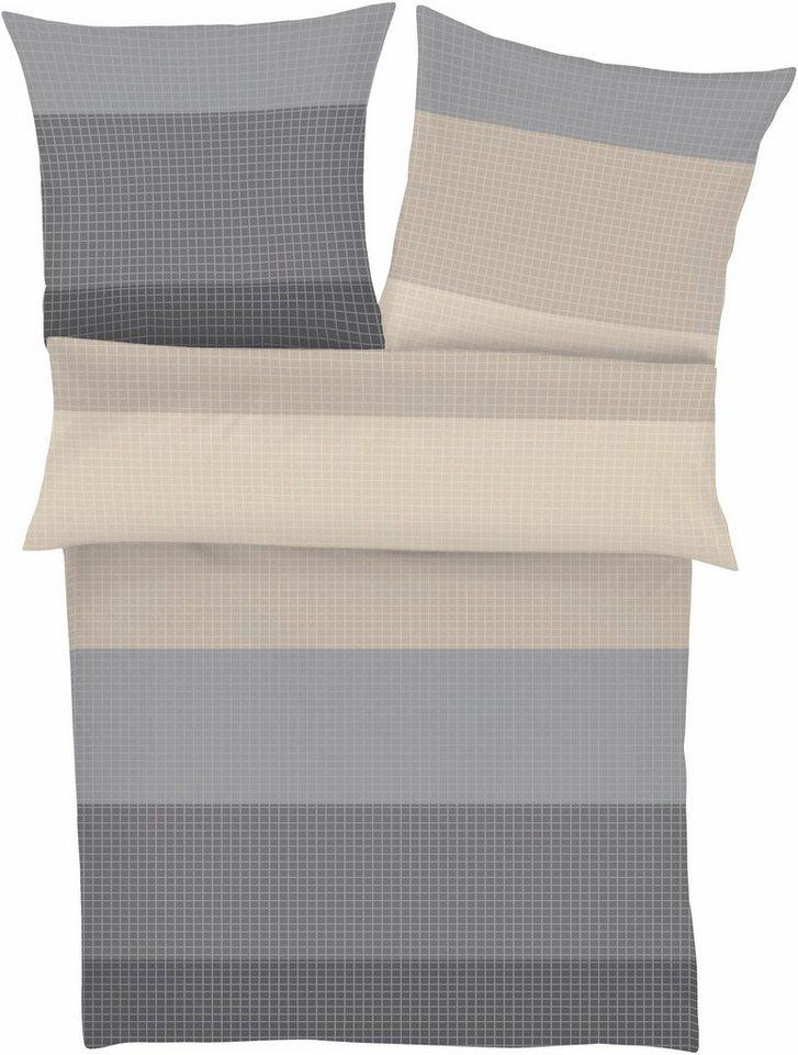 bettw sche s oliver g vle besonders fein karriert online kaufen otto. Black Bedroom Furniture Sets. Home Design Ideas