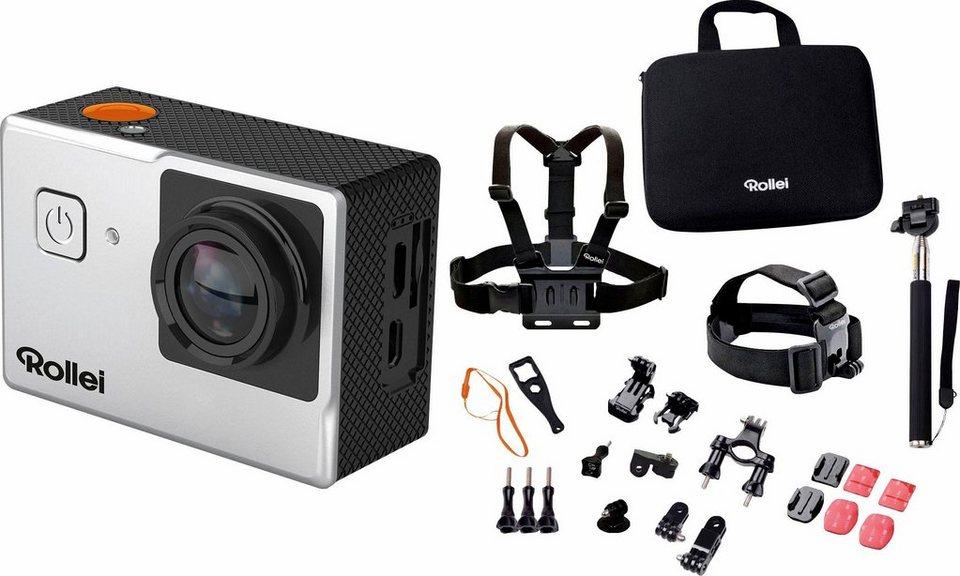 rollei 525 outdoor set 4k ultra hd actioncam wlan. Black Bedroom Furniture Sets. Home Design Ideas