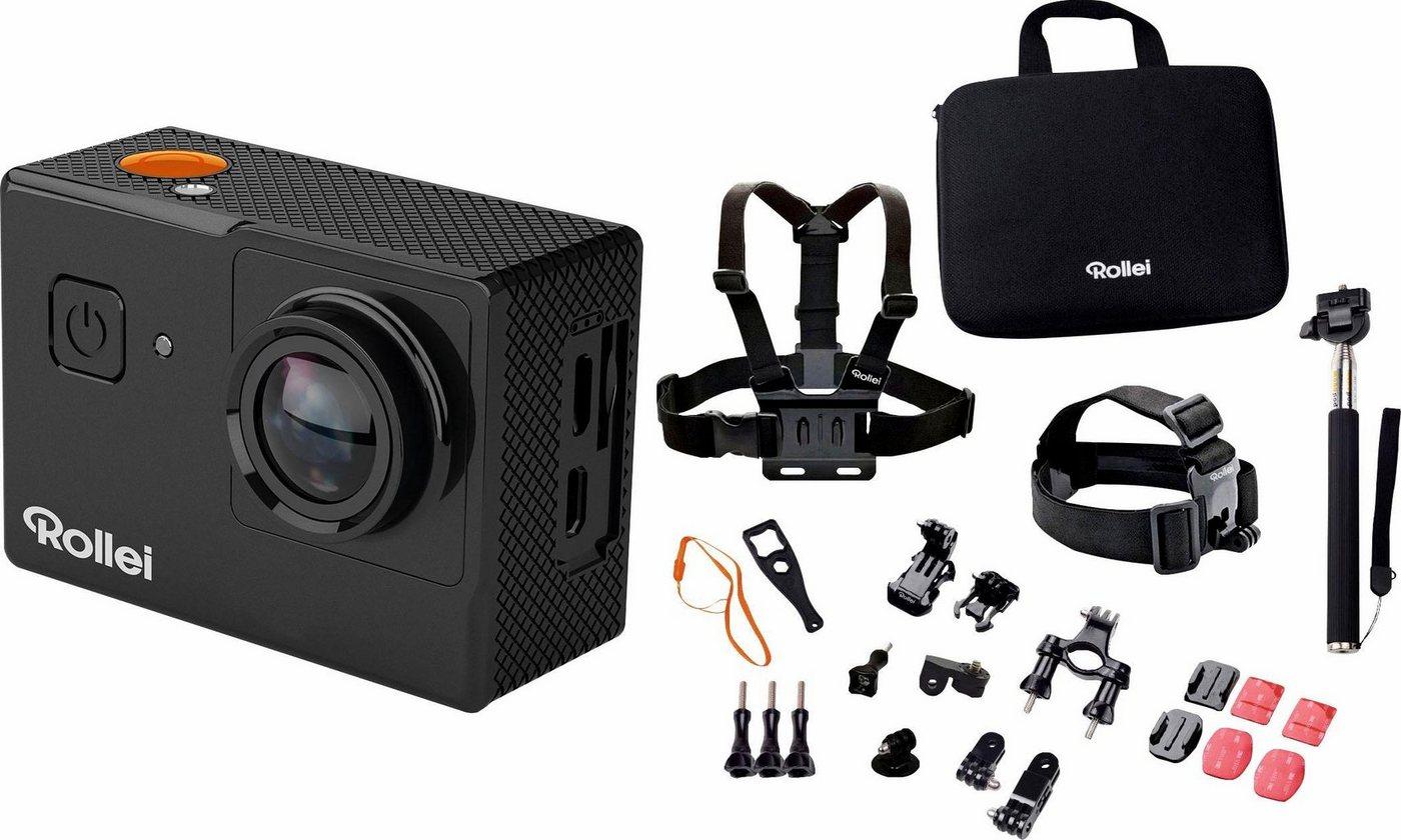 Action, Outdoorkameras - Rollei »Rollei 525 Outdoor Set 4K (Ultra HD)« Action Cam (WLAN (Wi Fi)  - Onlineshop OTTO