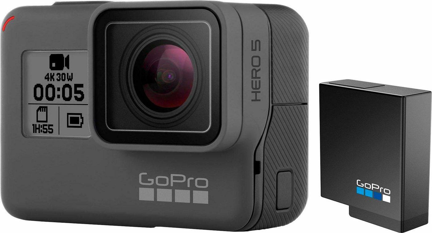 Action, Outdoorkameras - GoPro Hero5 Black Lithium Ionen Akku 4K (Ultra HD) Actioncam, GPS, WLAN, Bluetooth  - Onlineshop OTTO