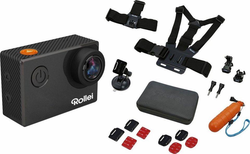 Rollei 530 + Sport-Set 4K (Ultra-HD) Actioncam, WLAN, Bluetooth ...