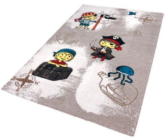 Kinderteppich »Momo Pirat«, Festival, rechteckig, Höhe 13 mm