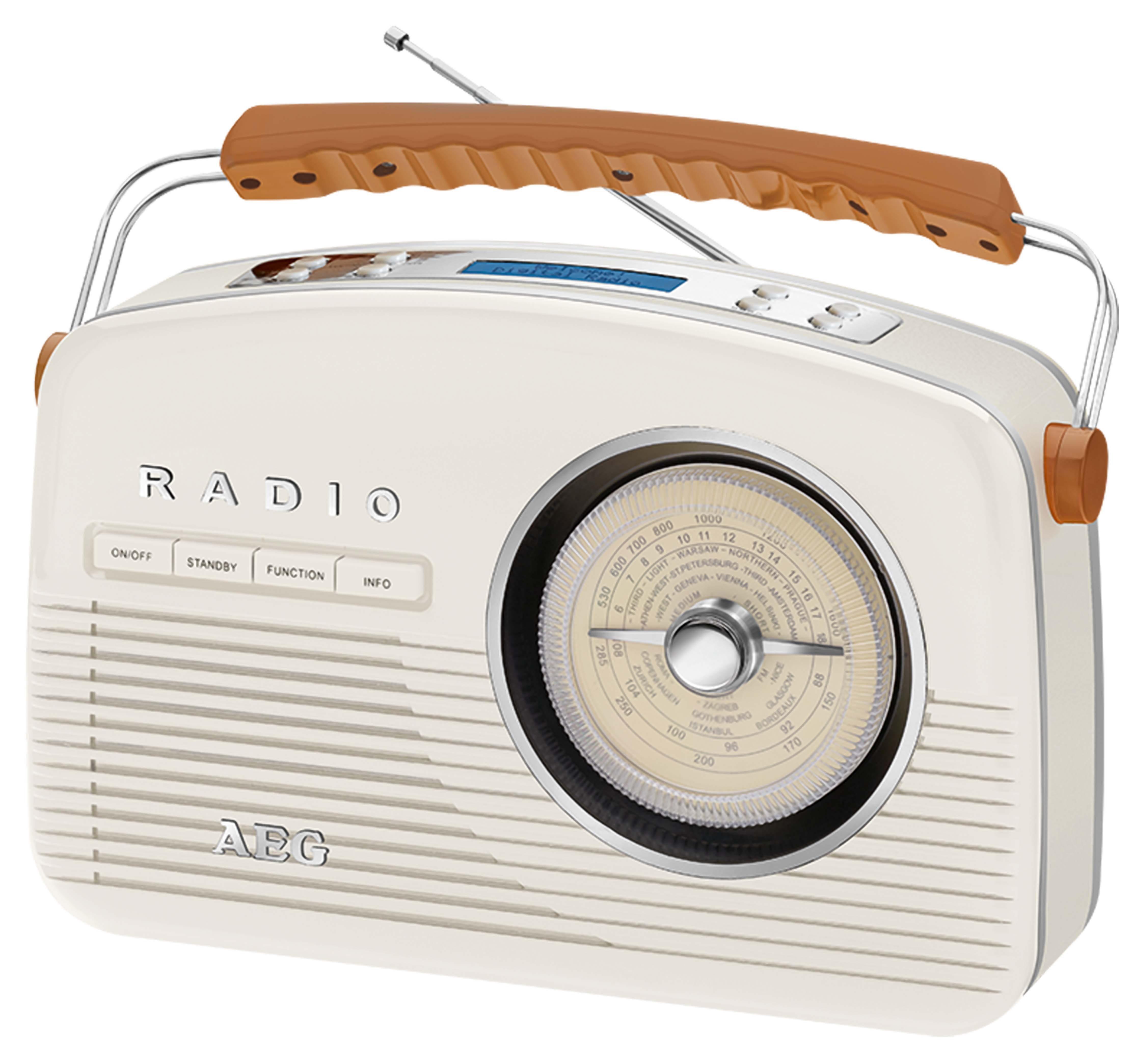 AEG DAB+/UKW Nostalgie Digital Radio »NDR 4156«