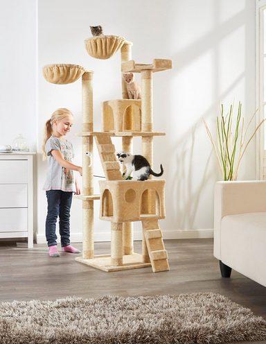 abuki kratzbaum coco bxtxh 50x50x170 cm beige otto. Black Bedroom Furniture Sets. Home Design Ideas