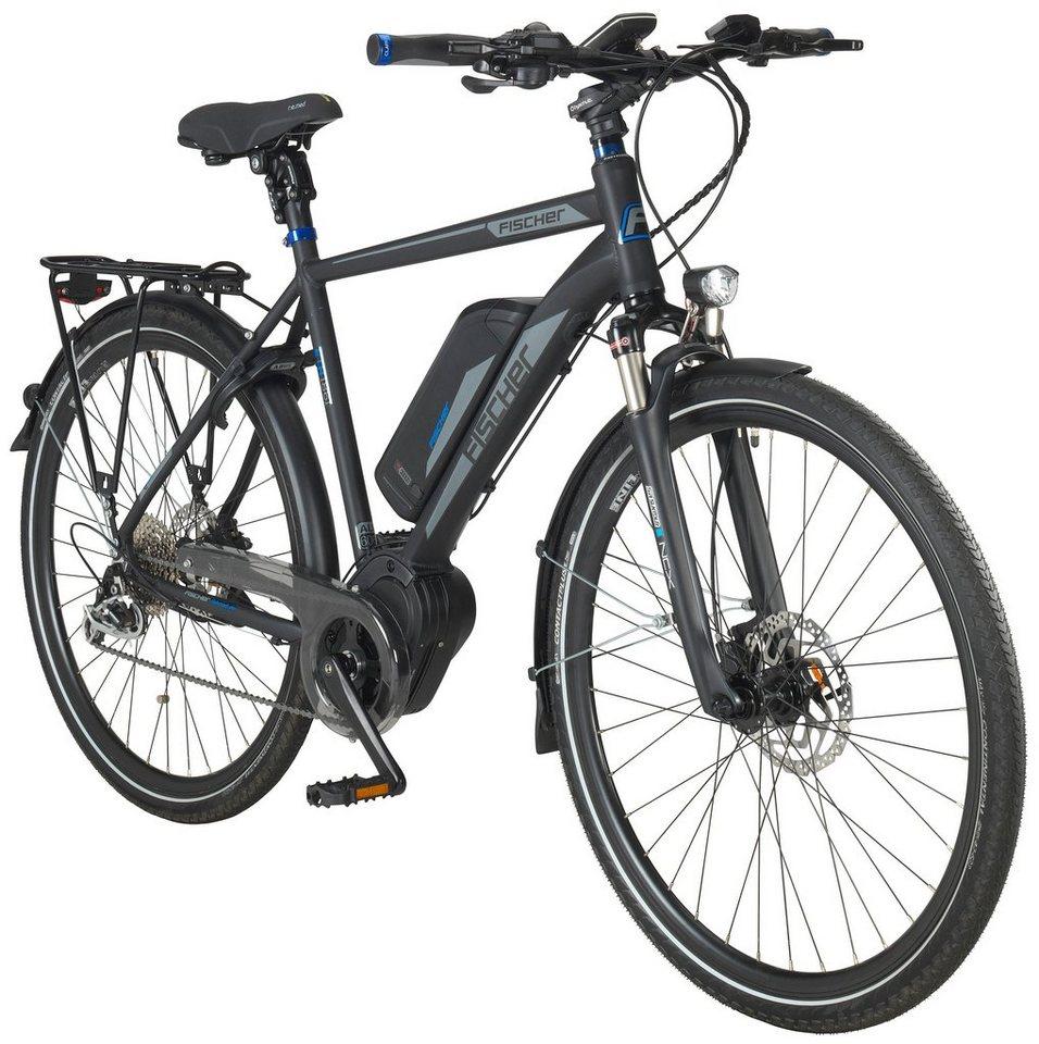 fischer fahrraeder e bike trekking herren eth1861 ready rh50 28 zoll 9 g nge 557 wh. Black Bedroom Furniture Sets. Home Design Ideas