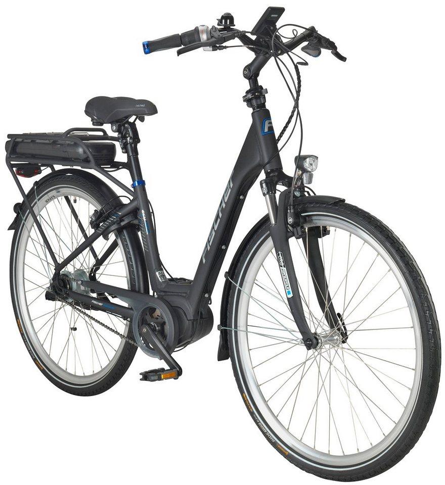 fischer fahrraeder e bike city damen ecu1860 ready rh44. Black Bedroom Furniture Sets. Home Design Ideas
