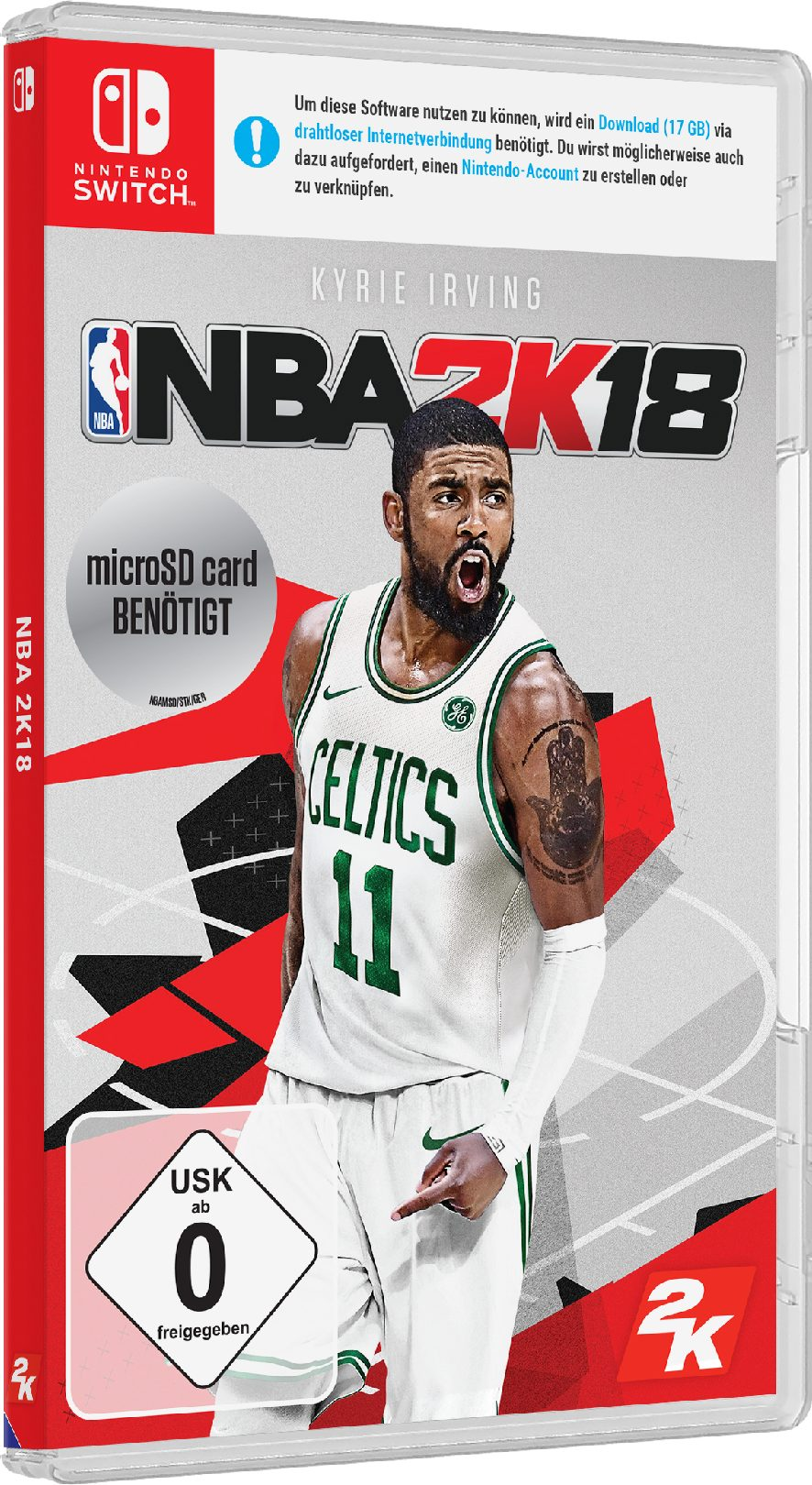 2K NBA 18 DayOne Edition »Nintendo Switch«