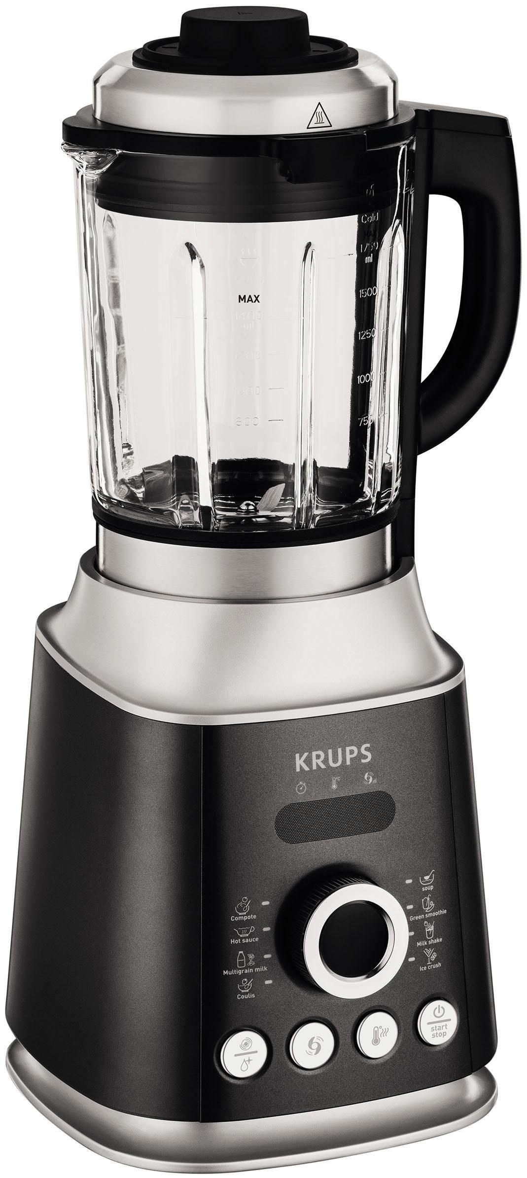 Krups Standmixer KB852E Ultrablend Cook, 1300 Watt