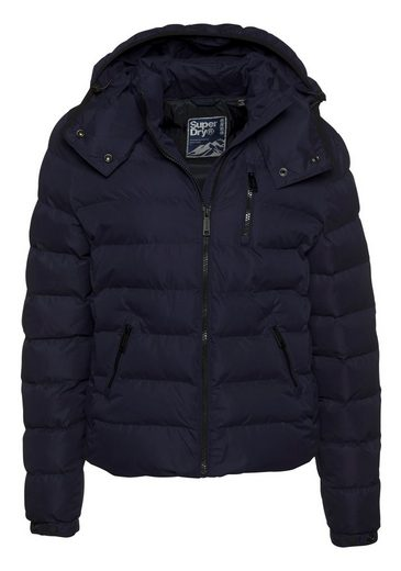Superdry Steppjacke »SUMMER MICROFIBRE JACKET« in matter Optik