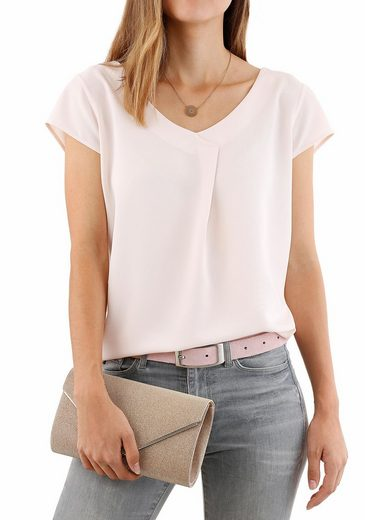 Laura Scott Clutch, Shimmering With Fine And Detachable Chain