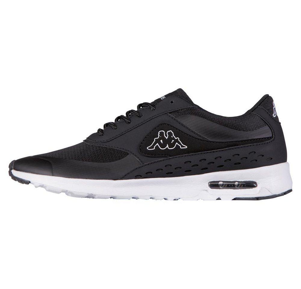 Damen Kappa MILLA Sneaker mit sichtbarem Luftkissen in der Sohle schwarz   04056142094779