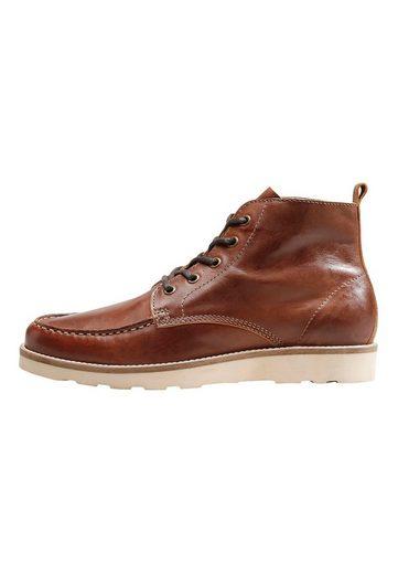 Next Stiefel aus Leder mit Keilsohle