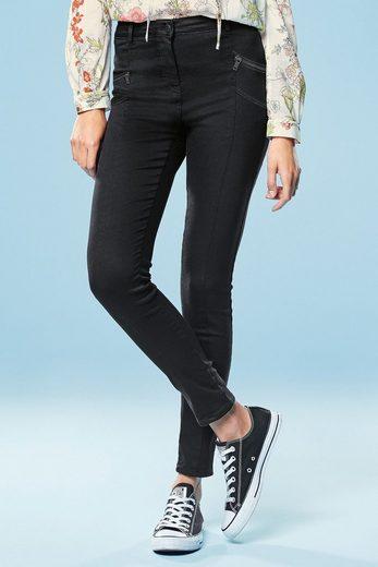 Next Skinny-Hose mit Reißverschlussdetails