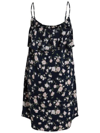 Pieces Sommer-Print- Kleid