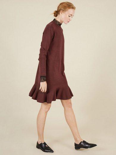 Y.A.S A-förmiges Kleid mit langen Ärmeln