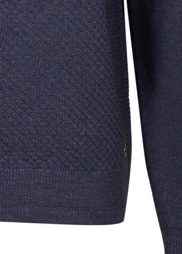 Daniel Hechter Strukturierter Pullover mit Rundhals-Kragen