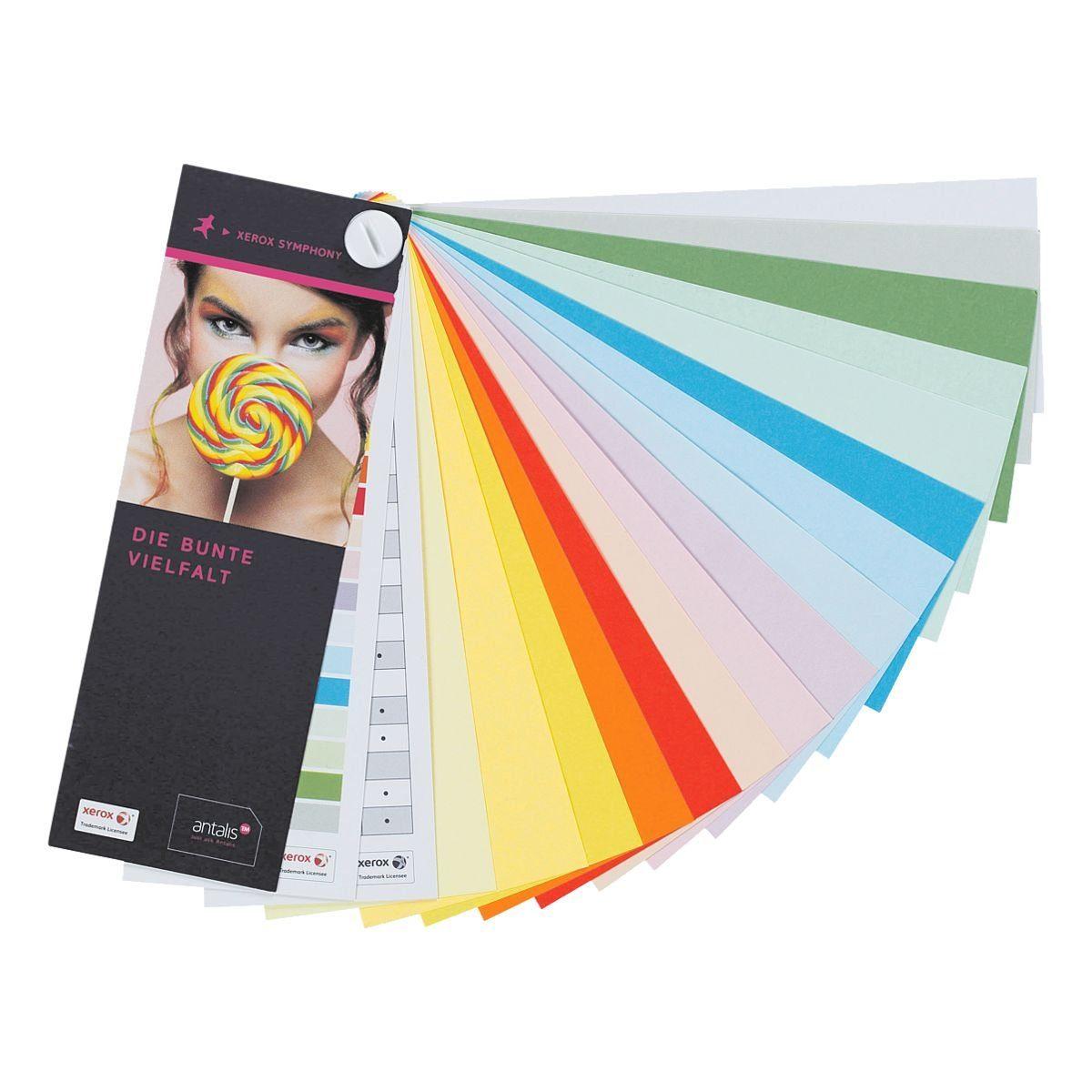 Xerox Farbfächer (Muster)
