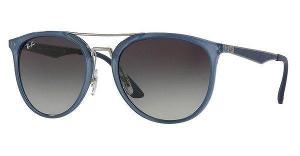 Ray-Ban RB4285 Sonnenbrille Blau / Dunkelgrau 630311 55mm H7qY5eVg