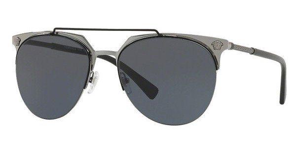 Versace Herren Sonnenbrille » VE2181«, gelb, 100171 - gelb/grün