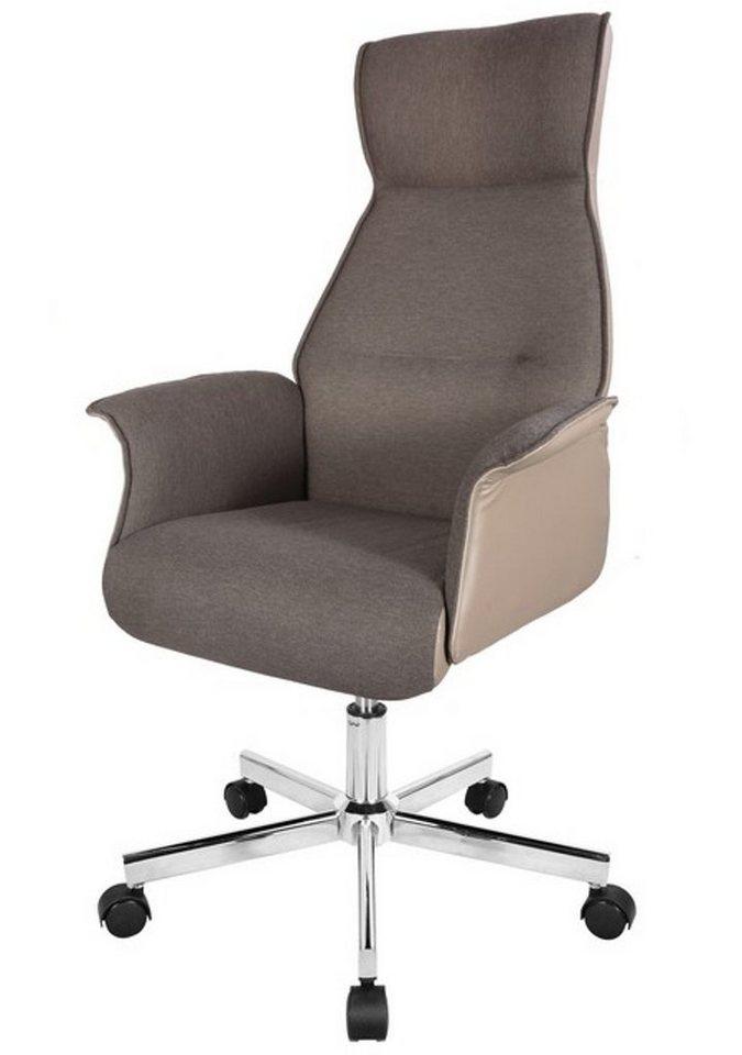 Bürostühle - HTI Line Chefsessel »Ove« » braun  - Onlineshop OTTO
