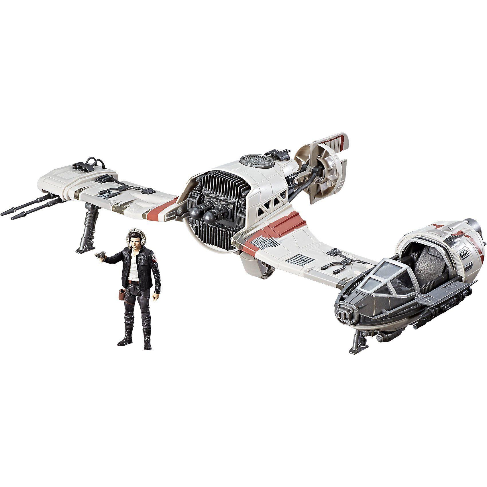 Hasbro Star Wars Episode 8 Forcelink Ski Speeder mit Figur