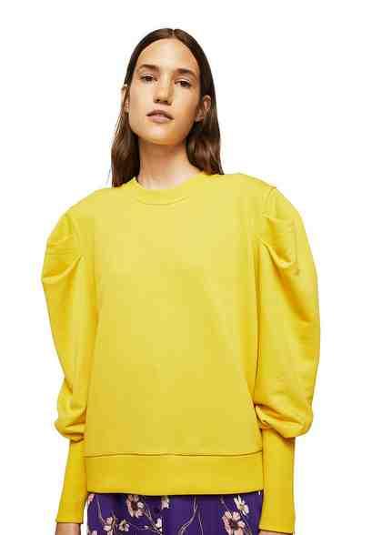 MANGO Sweatshirt mit Puffärmeln