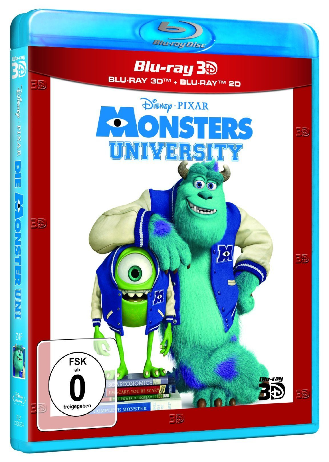 Walt Disney Die Monster Uni 2D/3D »Blu-ray«