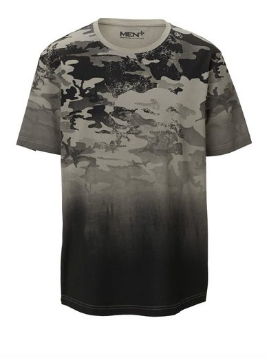 Men Plus by Happy Size T-Shirt Camouflage