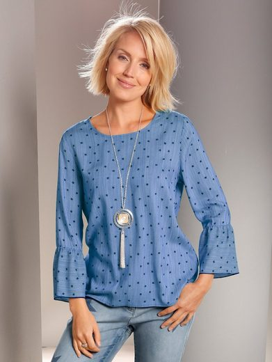 Paola Tunic With Asterisks Pressure All Round