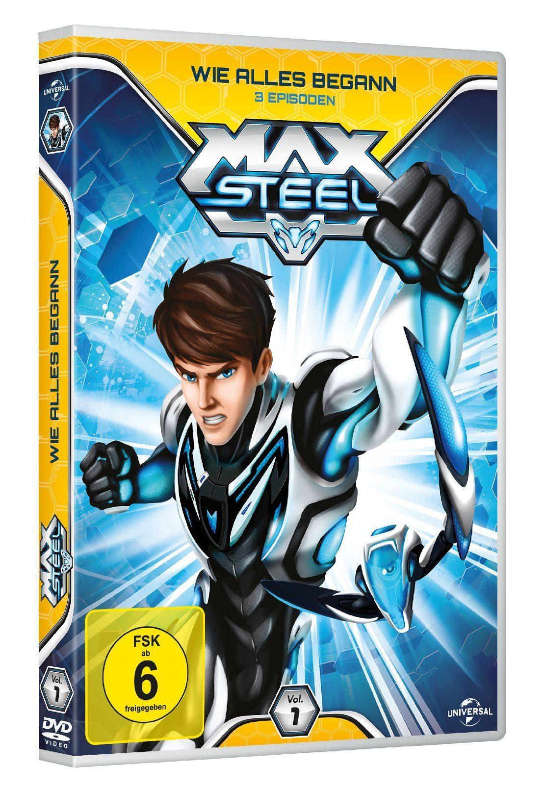 Universal Max Steel Vol. 1 - Wie alles begann »DVD«
