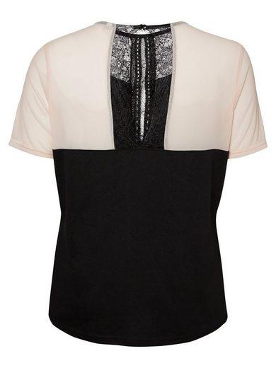 Junarose Spitzendetail- T-shirt With Short Sleeves