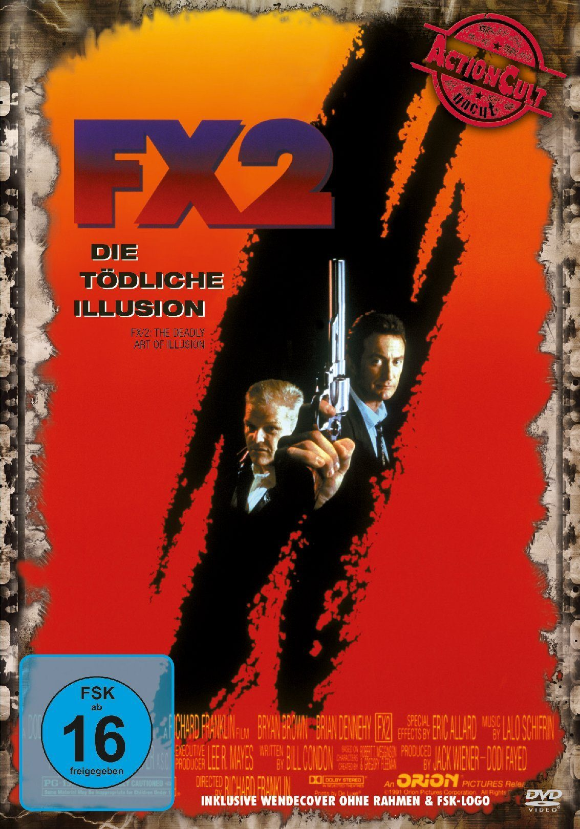 Fox FX 2 - Die tödliche Illusion (Action Cult uncut) »DVD«