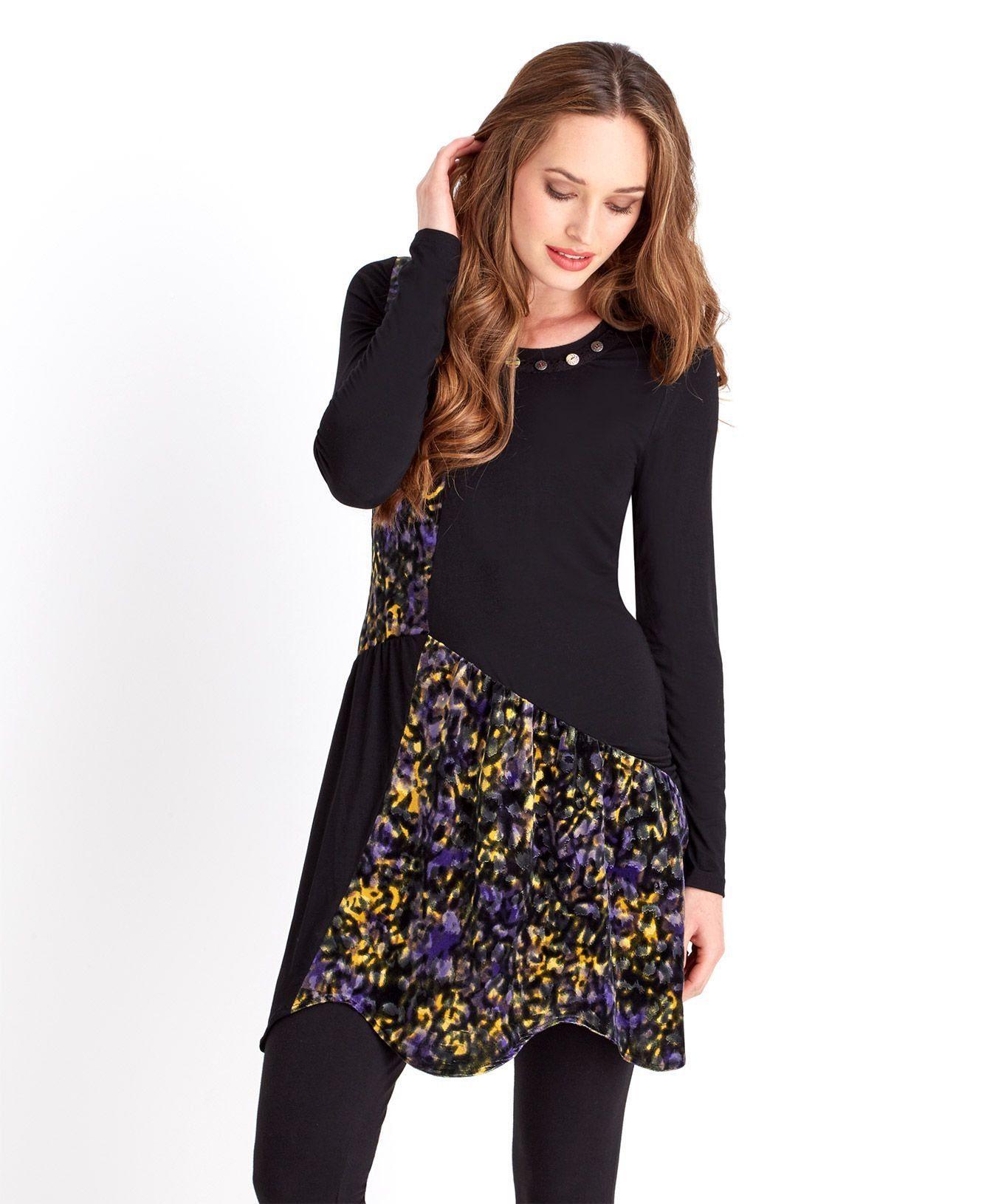 Joe Browns Tunika »Langarm-Tunikakleid mit floralem Print von Joe Browns für Damen«