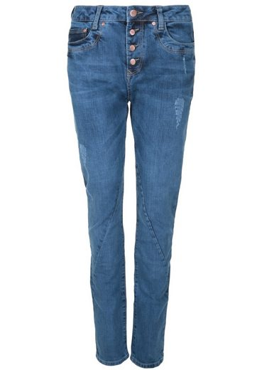 Gin Tonic 5-Pocket-Jeans BOYFRIEND STYLE BRIGHT