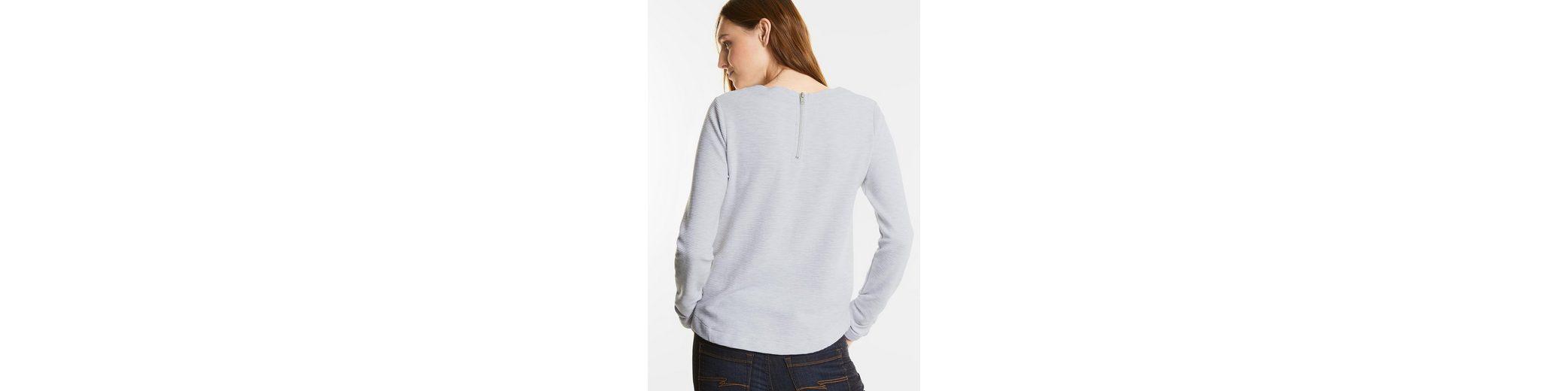 Street One Rippshirt mit Zipper Laira Offizielle Seite Spielraum Extrem Günstig Kaufen Ebay ou5L9j33j7