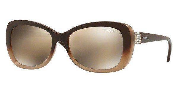 VOGUE Vogue Damen Sonnenbrille » VO2943SB«, rot, 261211 - rot/grau