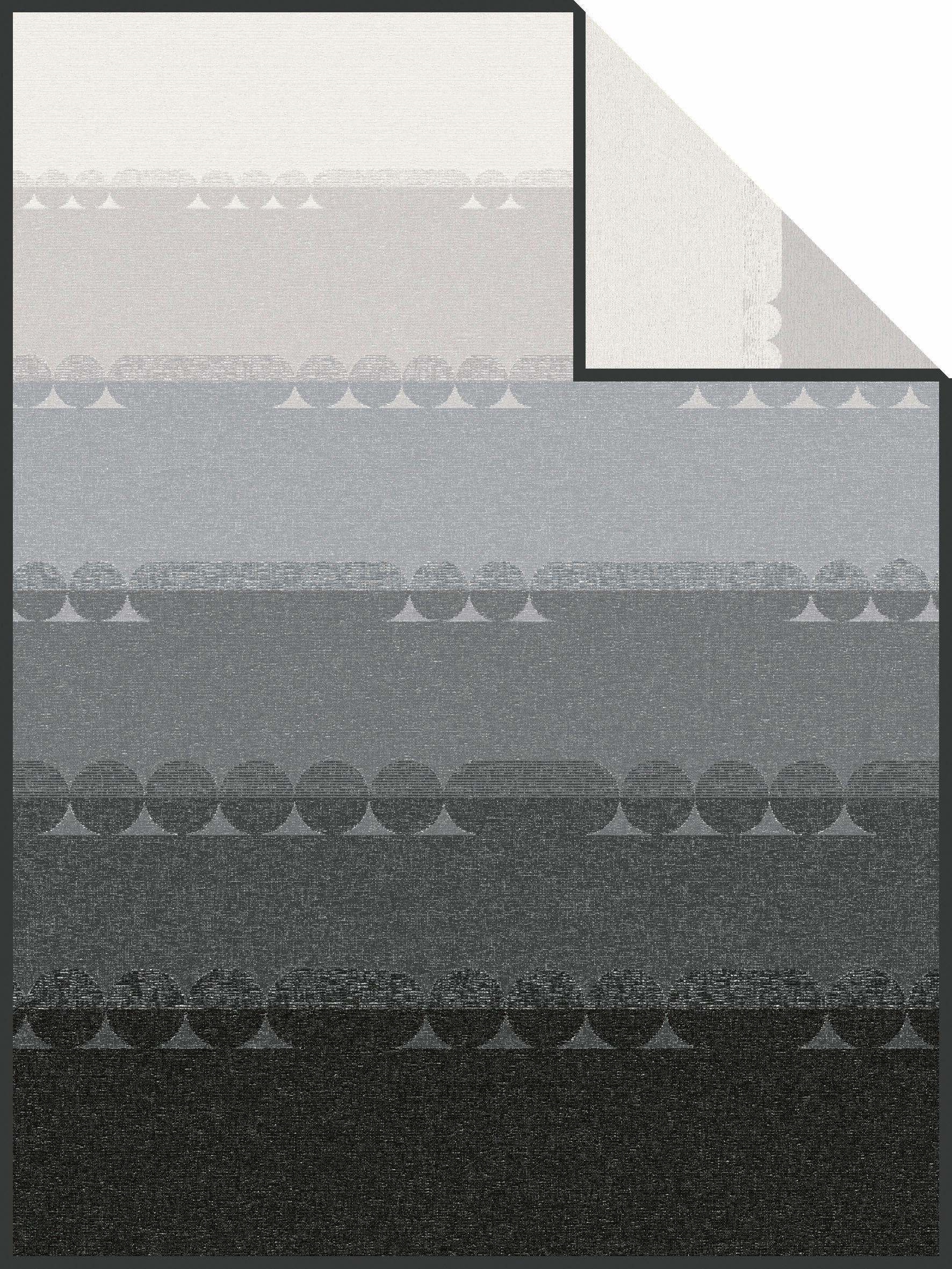 Wohndecke, Ibena, »Kunda«, mit angedeuteten Kreisen