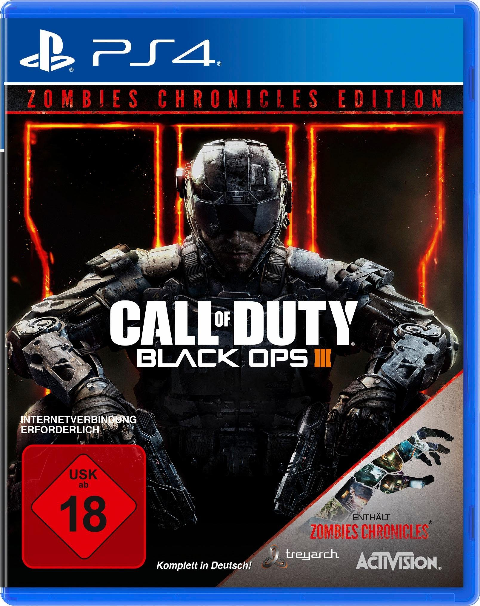 Call of Duty: Black Ops III Zombies Chronicles PlayStation 4