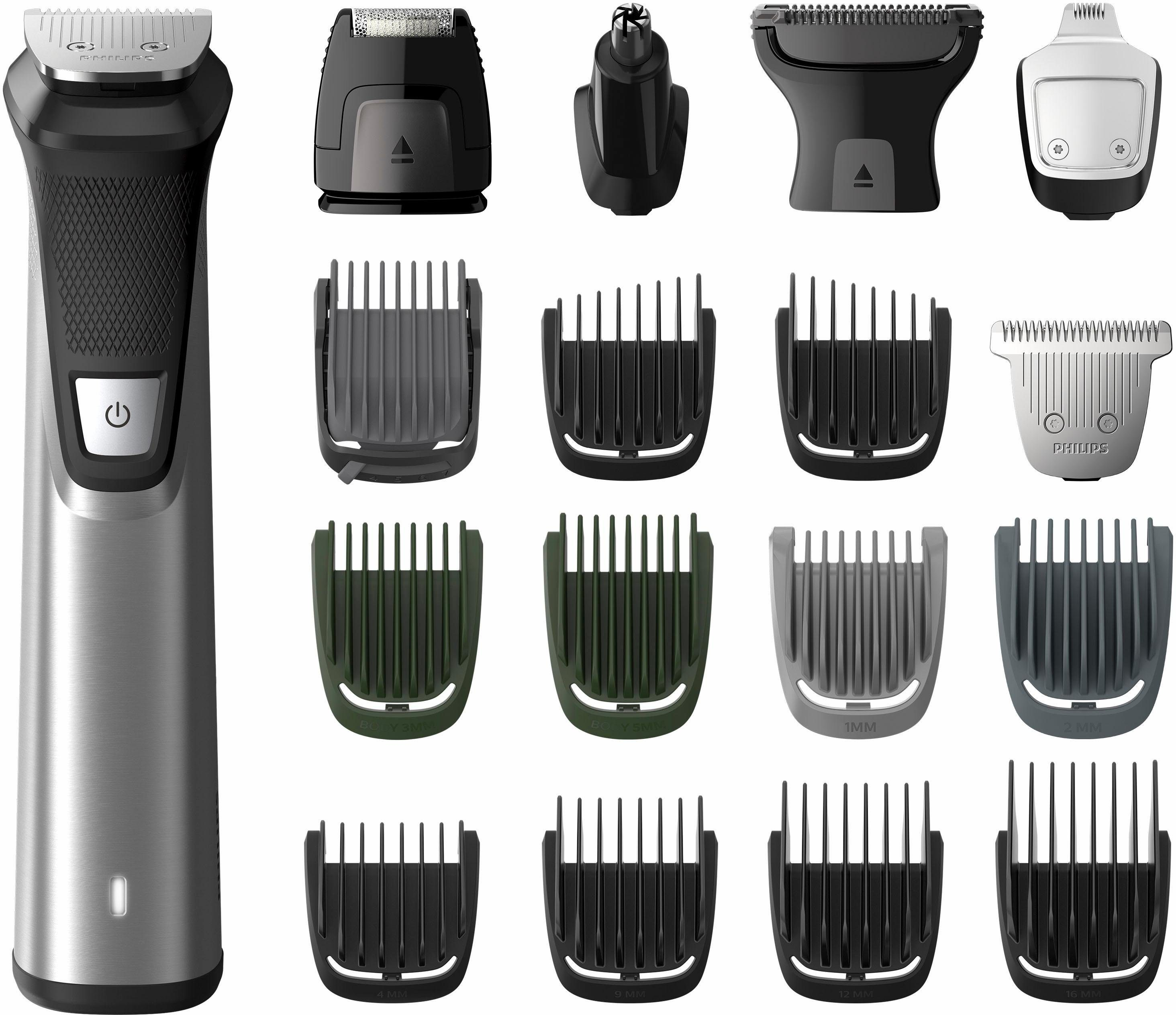 Philips Haar- und Bartschneider MG7770/15, Multigroom Series 7000 mit 18 Aufsätzen