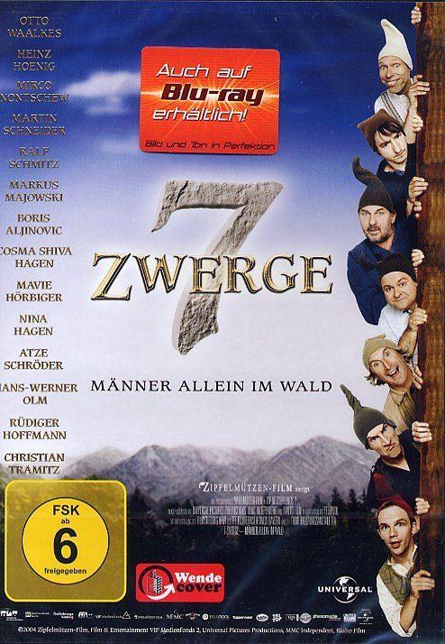 Universal 7 Zwerge: Männer allein im Wald »DVD«