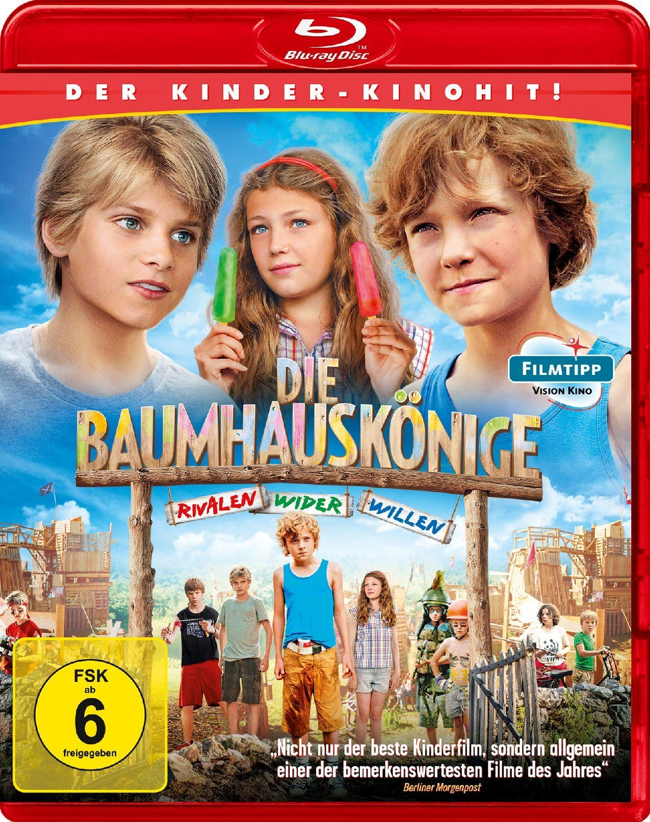 Koch Media Die Baumhauskönige - Rivalen wider Willen »Blu-ray«