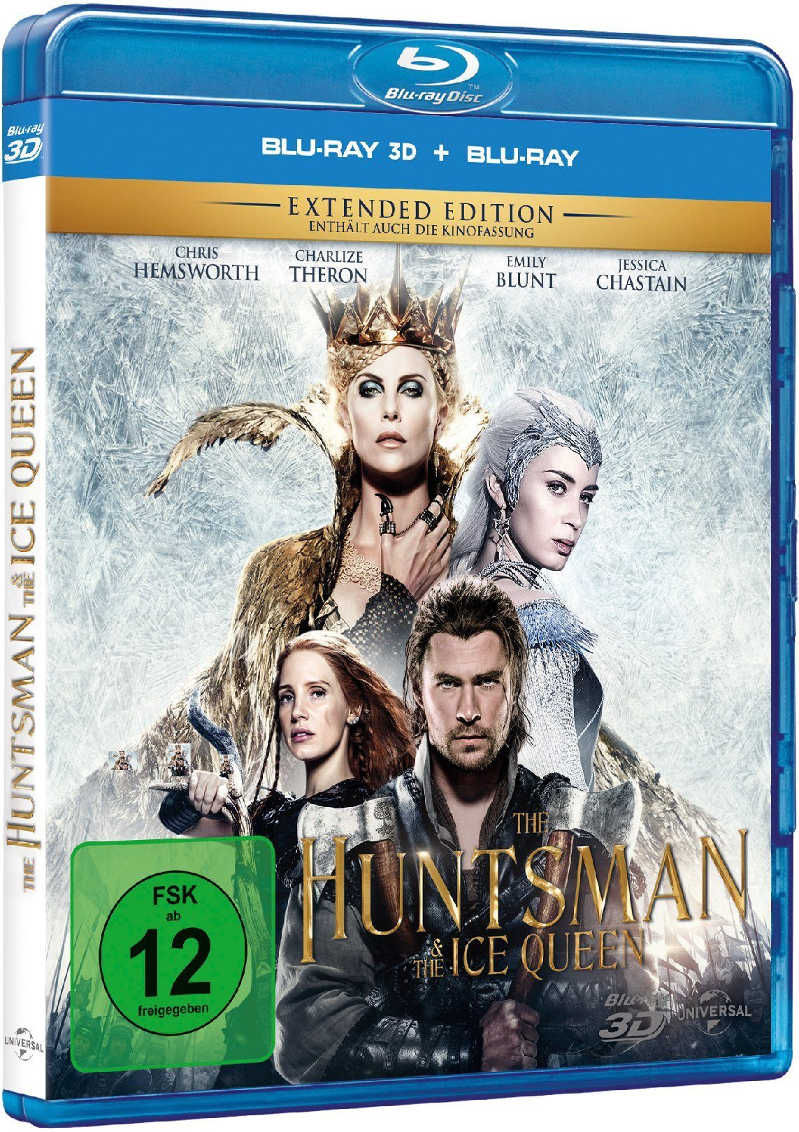 Universal The Huntsman & The Ice Queen 3D (Extended Edition + Kinofassung) »Blu-ray«
