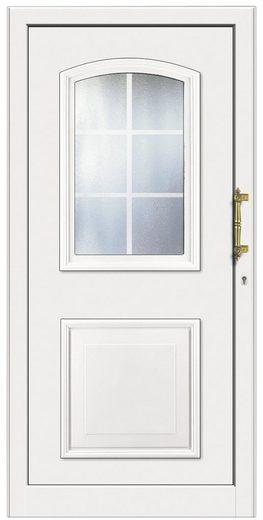 km meeth zaun gmbh kunststoff haust r kt258 bxh 98x198 cm wei anschlag rechts online. Black Bedroom Furniture Sets. Home Design Ideas