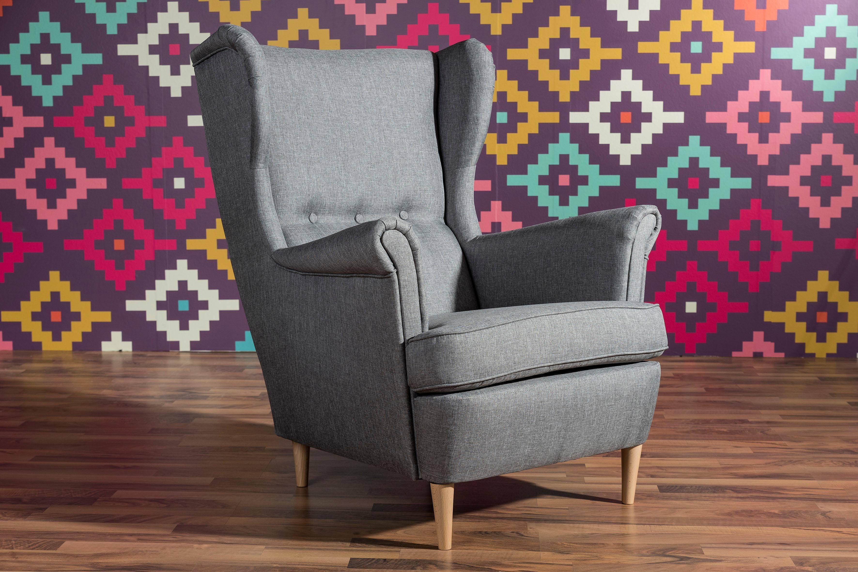 westwingnow de ohrensessel online kaufen m bel. Black Bedroom Furniture Sets. Home Design Ideas