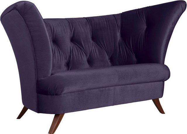 Max Winzer® Chesterfield-Sofa »Donny«| 2-Sitzer mit Knopfheftung| in geschwungener Form | Wohnzimmer > Sofas & Couches > Chesterfield Sofas | Max Winzer®