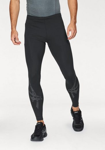 Asics Running Tights Asics Stripe Tight, With Practical Zip Pocket