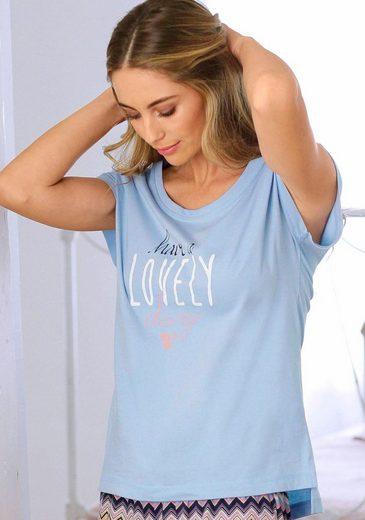 Vivance Dreams T-Shirt mit Schriftzug